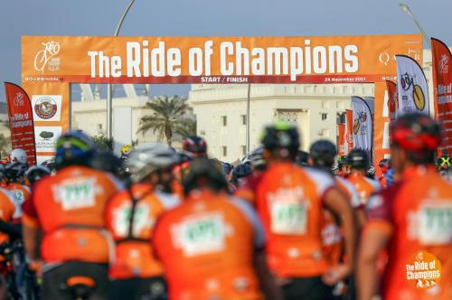 ROCDoha2017-ROC2017 Moving fast - yesterday at the Ride of Champions (www.rocdoha.qa), organised by Qatar Cyclist Centre and presented by Qatar Tourism Authority